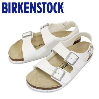 BIRKENSTOCK (ビルケンシュトック) MILANO (ミラノ) ビルコフロー サンダル レギュラー(幅広) ホワイト BI063