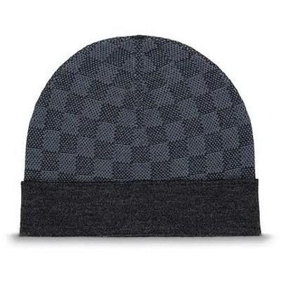 ルイヴィトン帽子 ニット帽 メンズ 新作新品 M70011 ボネプティ ダミエ LOUIS VUITTON 正規ラッピング