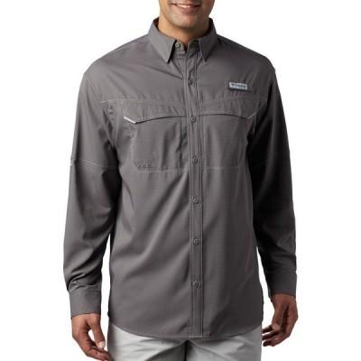 コロンビア シャツ トップス メンズ Columbia Men's PFG Low Drag Offshore Long Sleeve Shirt CityGrey