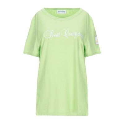 BEST COMPANY T シャツ ビタミングリーン S コットン 100% T シャツ