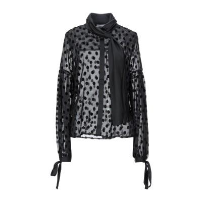 PERSEVERANCE シャツ ブラック 12 レーヨン 70% / ポリエステル 25% / Lurex® 5% シャツ