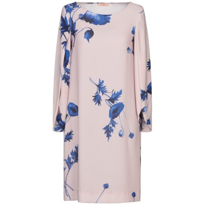 MAESTA ミニワンピース&ドレス ローズピンク 44 PES - ポリエーテルサルフォン 100% ミニワンピース&ドレス