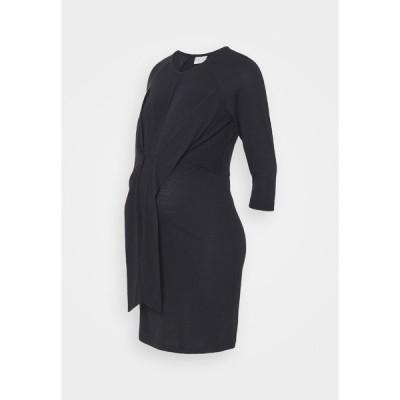 ママリシャス ワンピース レディース トップス MLZILKE SHORT DRESS  - Jersey dress - dark navy