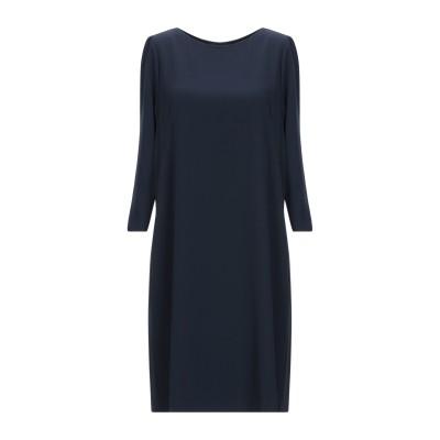 PAOLA PRATA ミニワンピース&ドレス ダークブルー 38 ポリエステル 97% / ポリウレタン 3% ミニワンピース&ドレス