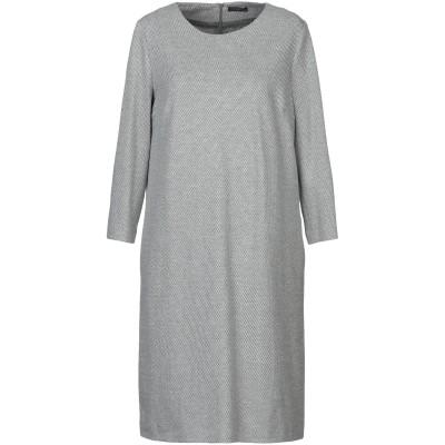 ペゼリコ PESERICO ミニワンピース&ドレス グレー 42 コットン 100% ミニワンピース&ドレス