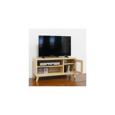 カントリー風テレビボード 幅90 [クロシオ チュラルナ テレビボード 75438]/同梱不可・代引き不可