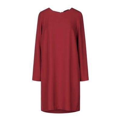 OTTOD'AME ミニワンピース&ドレス レンガ 38 ポリエステル 97% / ポリウレタン 3% ミニワンピース&ドレス