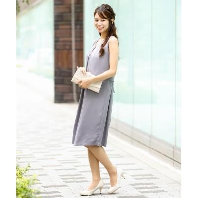 取り外しネックレス付きワンピースドレス (ワンピース)Dress