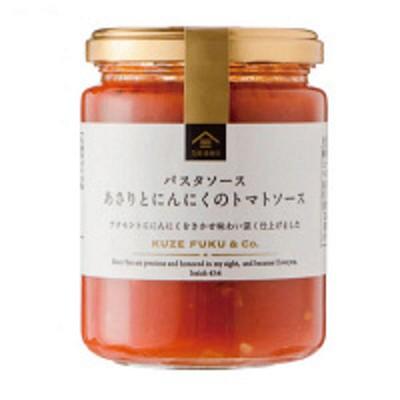 サンクゼール久世福商店 あさりとにんにくのトマトソース 220g 1個