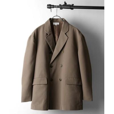 Nilway / イージーケアポリトロダブルテーラードジャケット MEN ジャケット/アウター > テーラードジャケット