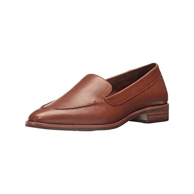 Aerosoles Women's East Side Loafer, dark tan leather, 7.5 M US