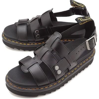 ドクターマーチン Dr.Martens フィッシャーマンサンダル テリー TERRY BRANDO メンズ レディース レザーサンダル 靴 BLACK 23521001 SS19