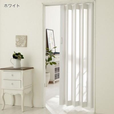 カーテン 安い おしゃれ のれん カフェカーテン パタパタ窓付きロングドア カラー ホワイト