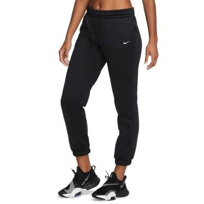 ナイキ カジュアルパンツ ボトムス レディース Women's Therma Tapered Training Pants Black/White