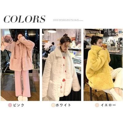 ファー豪華シルエット綺麗ダウンアウターダウンジャケットファーコートレディース毛皮コートふわふわ暖かいもこもこ