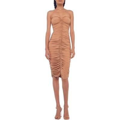 ノーマ カマリ KAMALIKULTURE by Norma Kamali レディース ワンピース ワンピース・ドレス Slinky To Knee Nude