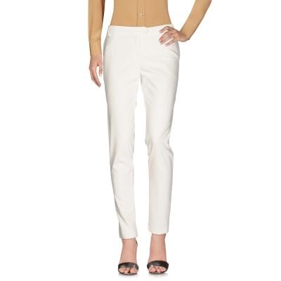 ブルーガール ブルマリン BLUGIRL BLUMARINE パンツ ホワイト 44 48% コットン 48% ポリエステル 4% ポリウレタン パ