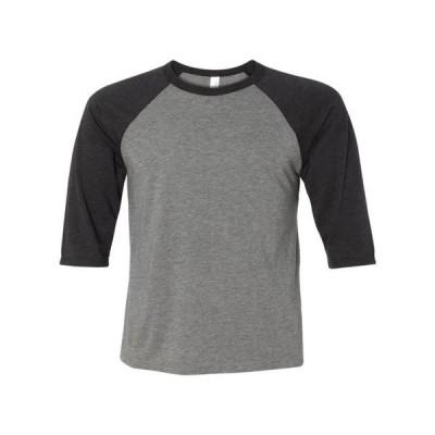 ベビー 衣類 トップス BELLA + CANVAS - Toddler Three-Quarter Sleeve Baseball Tee BELLA + CANVAS - NIB Tシャツ