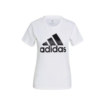 アディダス(adidas) Tシャツ レディース 半袖 エッセンシャルズ ロゴTシャツ 46361-GL0649 (レディース)