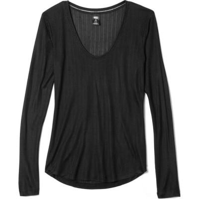 レイ REI Co-op レディース トップス Vネック Silk V-Neck Shirt BLACK