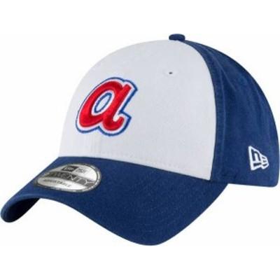 ニューエラ メンズ 帽子 アクセサリー New Era Men's Atlanta Braves Royal 1972 Core Classic Adjustable Hat