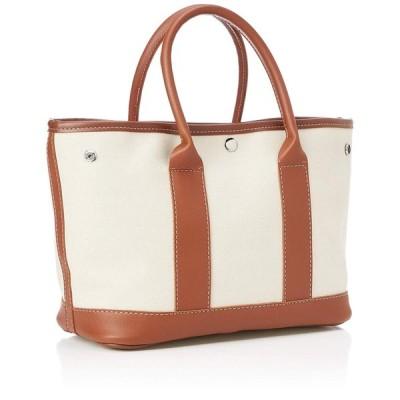キンシュウ レディース キャンバス ショルダーバック 手提げ 高級感 ビジネスバッグ 無地 通勤 bag123 ブラウン One Size