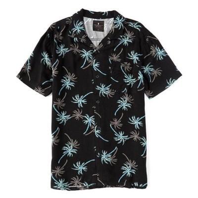 ジャンクフード メンズ シャツ トップス Dima Short-Sleeve Camp Shirt
