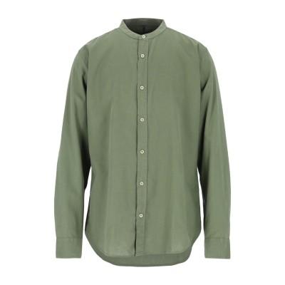 IMPURE シャツ ミリタリーグリーン XL リネン 55% / コットン 45% シャツ