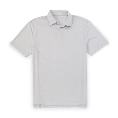 サウザーンタイド メンズ ポロシャツ トップス Driver Spacedye Performance Stretch Short-Sleeve Polo Shirt Seagull Grey