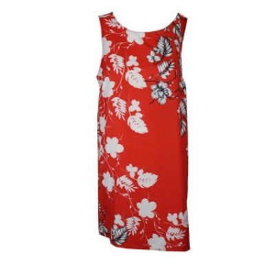 Vince ヴィンス ファッション ドレス Vince camuto red sexy Floral print high and low tunic m