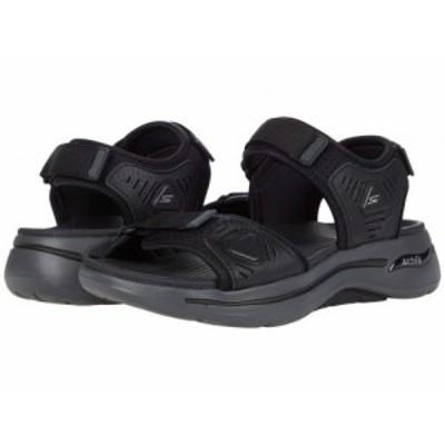 SKECHERS Performance スケッチャーズ メンズ 男性用 シューズ 靴 サンダル Go Walk Arch Fit Sandal 229020 Black/Charcoal【送料無料】