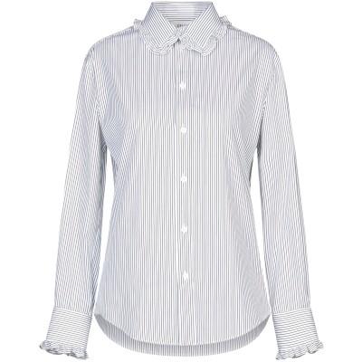 セリーヌ CELINE シャツ ブルー 40 コットン 100% シャツ