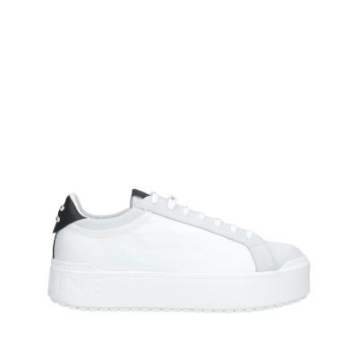 ルコライン RUCOLINE スニーカー&テニスシューズ(ローカット) ホワイト 37 革 / 紡績繊維 スニーカー&テニスシューズ(ローカット)