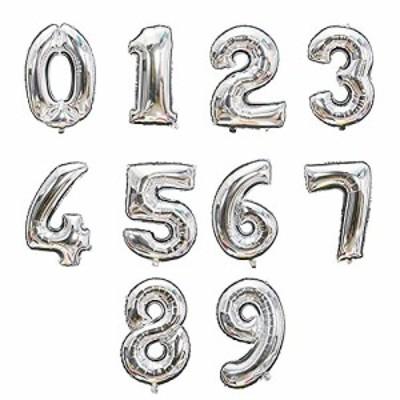 MANCY SHOP 誕生日 バルーン 数字 ナンバーバルーン 大きい 特大 ビッグ 32inch 飾り付け 記念日 写真撮影 パーティー バースデー 男の子