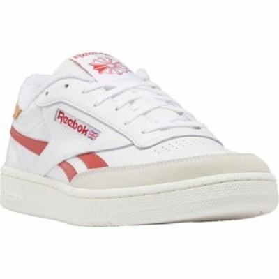 リーボック REEBOK メンズ スニーカー シューズ・靴 Club C Revenge Sneaker White/Mars Red/Chalk