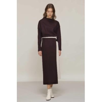 BOSCH (ボッシュ) レディース ◆ミルドスムースセットアップスカート ボルドー(070) 36