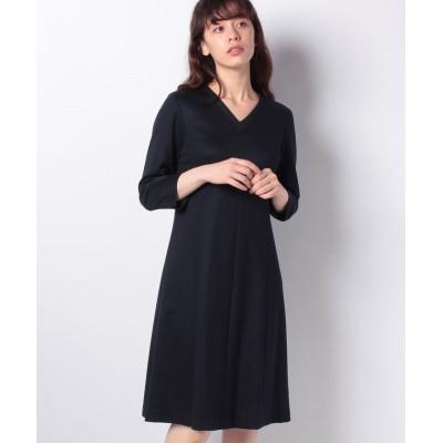 (LAPINE BLANCHE/ラピーヌ ブランシュ)Sarti ジャージー ドレス/レディース ネイビー