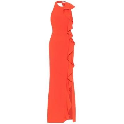 レベッカ ヴァランス Rebecca Vallance レディース パーティードレス ワンピース・ドレス galerie crepe gown Red