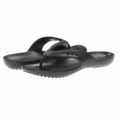 クロックス Crocs レディース ビーチサンダル シューズ・靴 kadee flip-flop Black