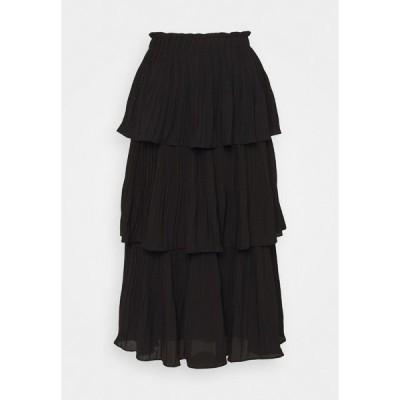ブルンスバザー スカート レディース ボトムス PEARL MALICA SKIRT - A-line skirt - black