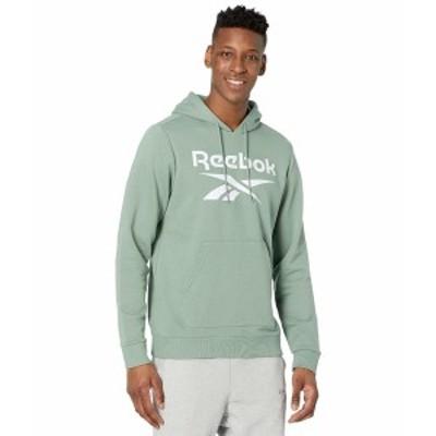 リーボック メンズ パーカー・スウェットシャツ アウター Training Essentials Sweatshirt Harmony Green