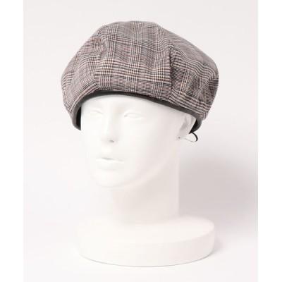 帽子 リバーシブルベレー帽