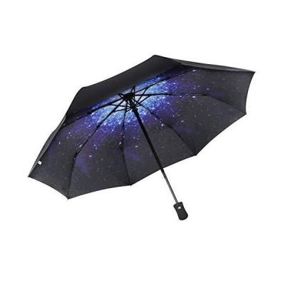 YUECHAO Windproof Folding Umbrellas Auto Open/Close 210T Canopy Windguard U