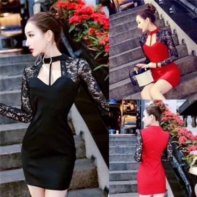 レディースファション 胸元 セクシー 気質 ベアトップ ワンピース   ドレス キャバ嬢 キャバドレス 夜店 diz11710969