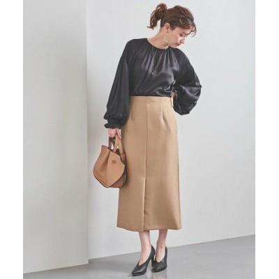 UNITED ARROWS/ユナイテッドアローズ UBC スリット Aラインスカート BEIGE 40