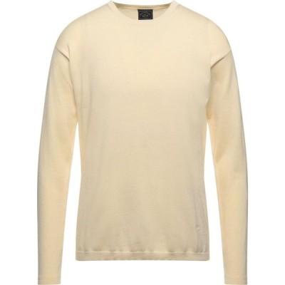 ポール シャーク PAUL & SHARK メンズ ニット・セーター トップス sweater Ivory