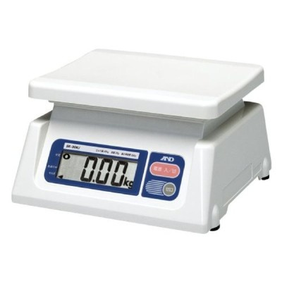 A&D 取引証明用 デジタルはかり SK-20Ki ≪ひょう量:20kg 最小表示:0.02kg(使用範囲:0.2~20kg) 皿寸法:23
