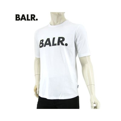 プライスダウン/ボーラー/BALR. メンズ Tシャツ BRAND ATHLETIC T SHIRT B10001/ホワイト/WHITE/セール