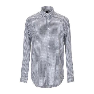 バグッタ BAGUTTA シャツ ホワイト 44 コットン 97% / ポリウレタン 3% シャツ