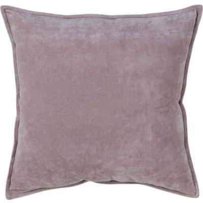 サロライフスタイル Saro Lifestyle ユニセックス 雑貨 ブランケット Solid Cotton Velvet Polyester Filled Throw Pillow, 20